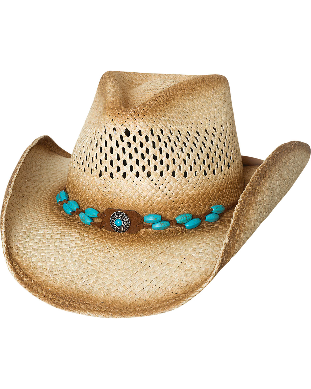 272e3d1c2 Bullhide Women's Doin' Natural Straw Cowgirl Hat
