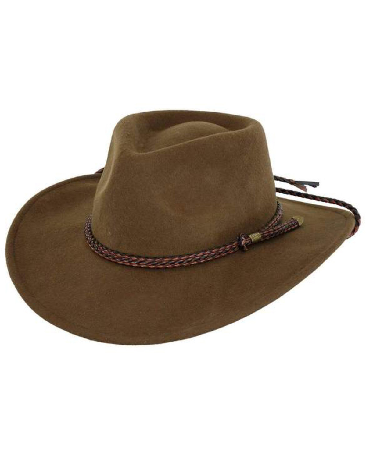 Outback Trading Co. Broken Hill Crushable Australian Wool Hat  3917d272406