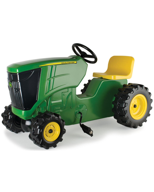 John Deere Kids Large Pedal Plastic Tractor Boot Barn