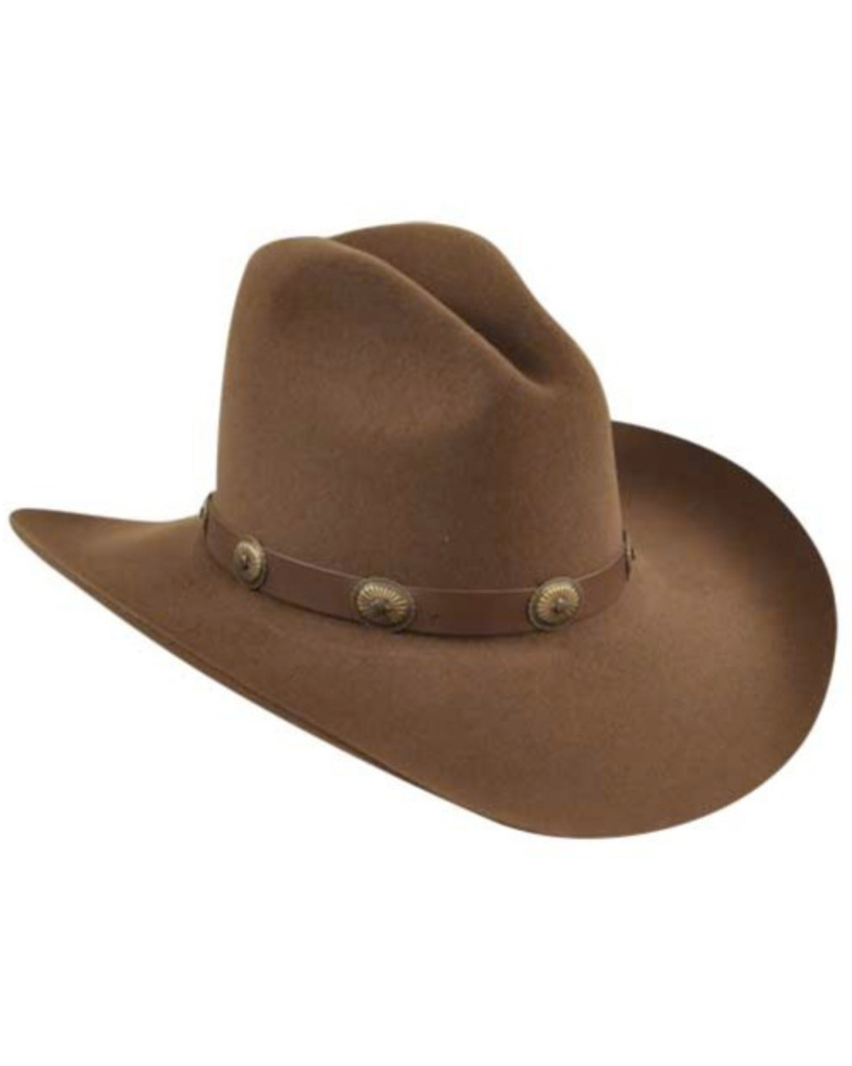 Bailey Western Tombstone Pecan Brown Hat  42115960b4a8