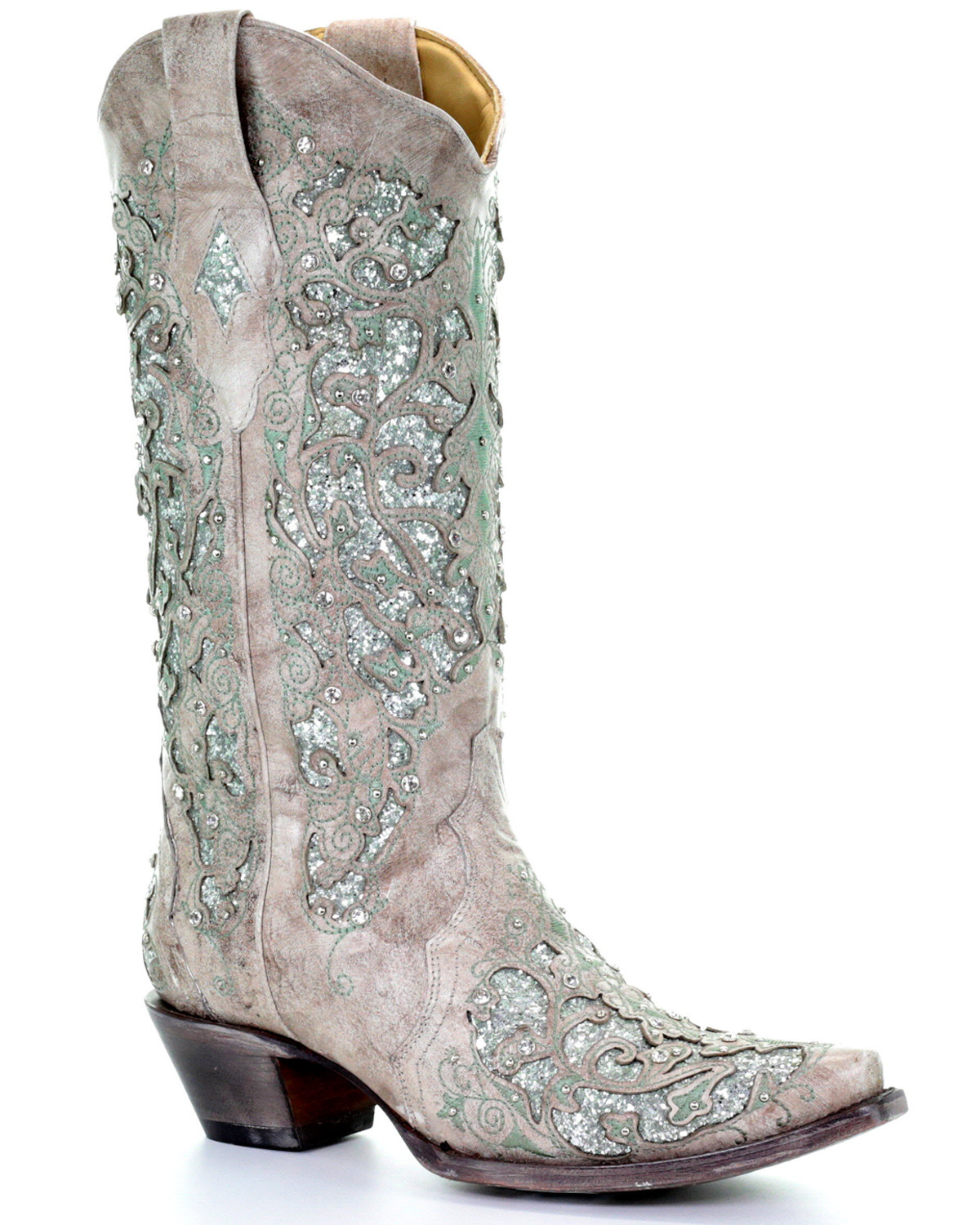 Corral Women's Glitter Inlay and