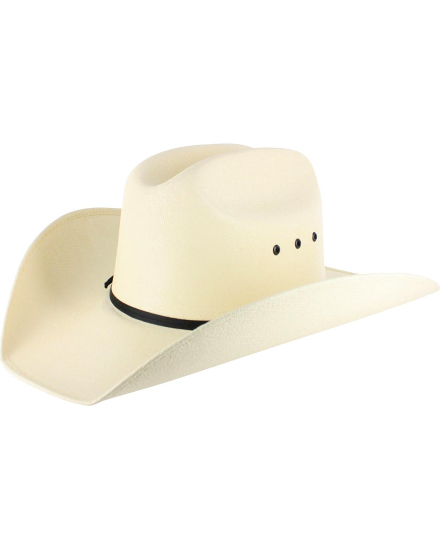 e10e49bc Cody James Boys' Elastic Fit Straw Cowboy Hat