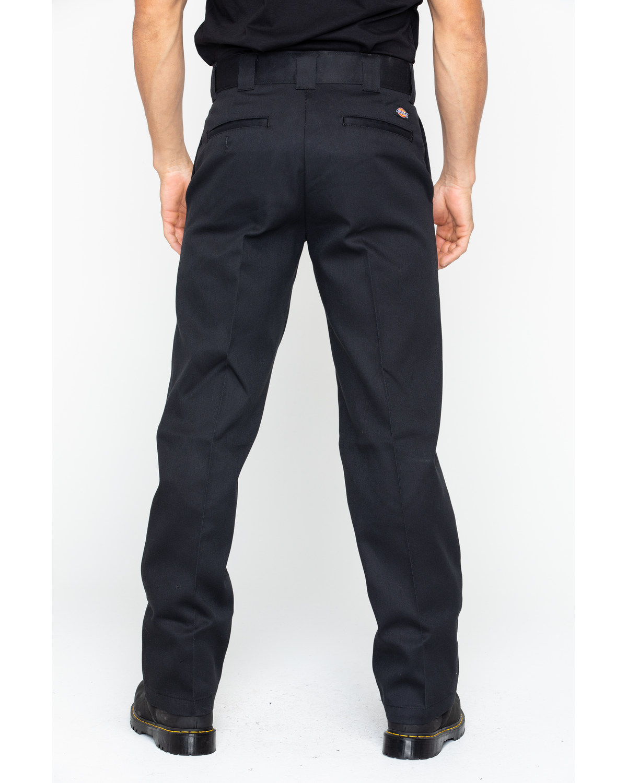 1003e4e614 Zoomed Image Dickies Men's 874 Flex Work Pants, Black, ...