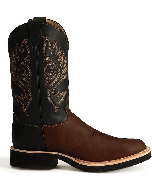 "Justin Men's 11"" Tekno Crepe Western Boots | Boot Barn"