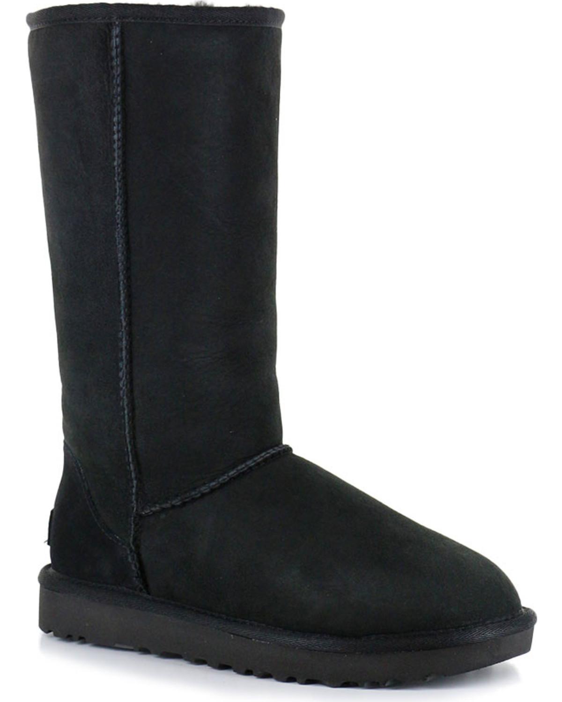 1be7e807ce8 UGG Women's Black Classic II Tall Boots