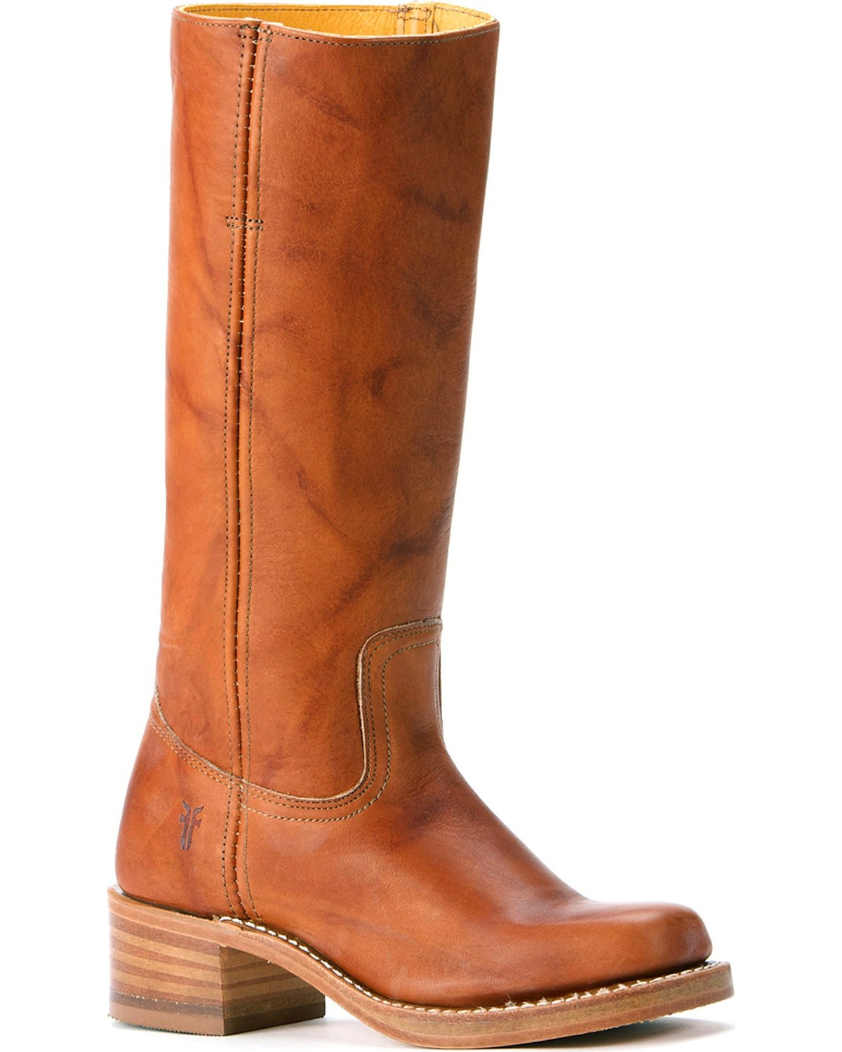 79aef999e813b Zoomed Image Frye Women's Campus Fashion Boots, Saddle Tan, hi-res