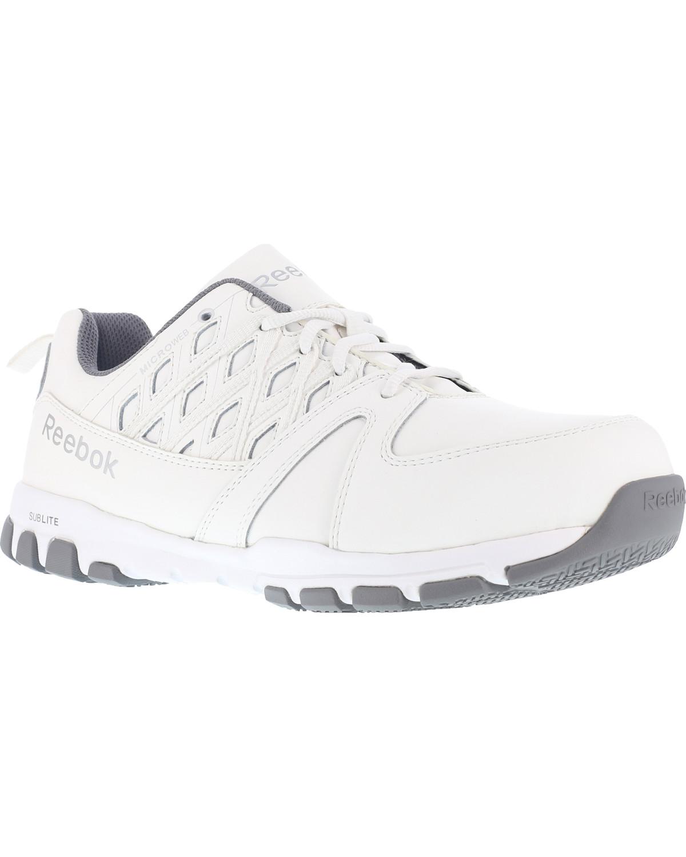 reebok steel toe sneaker
