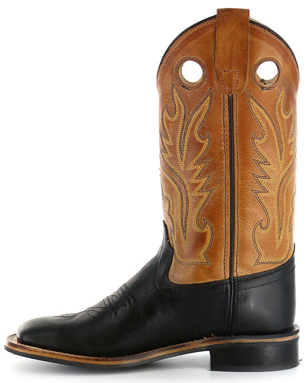 948697a1ec2e Old West Boys  Black Canyon Tan Cowboy Boots - Square Toe