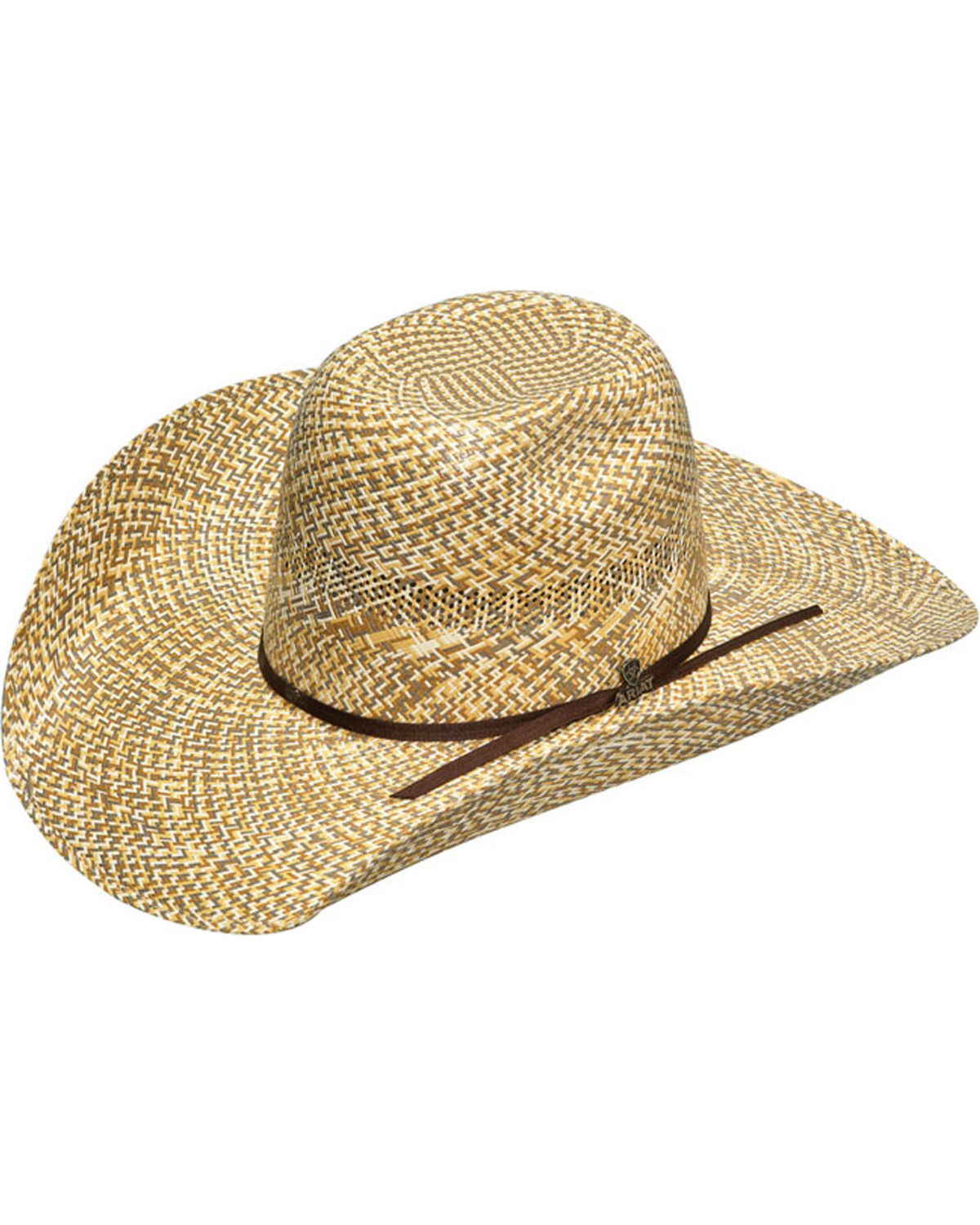 Ariat Tan and Brown 20X Shantung Hat  0b1caf07a31