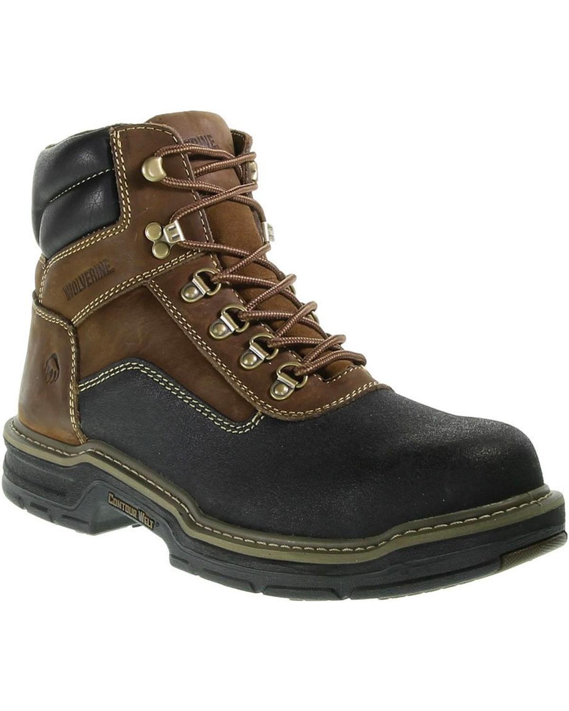 4c6daf3da2d Wolverine Men's Corsair Waterproof Composite Toe Work Boots