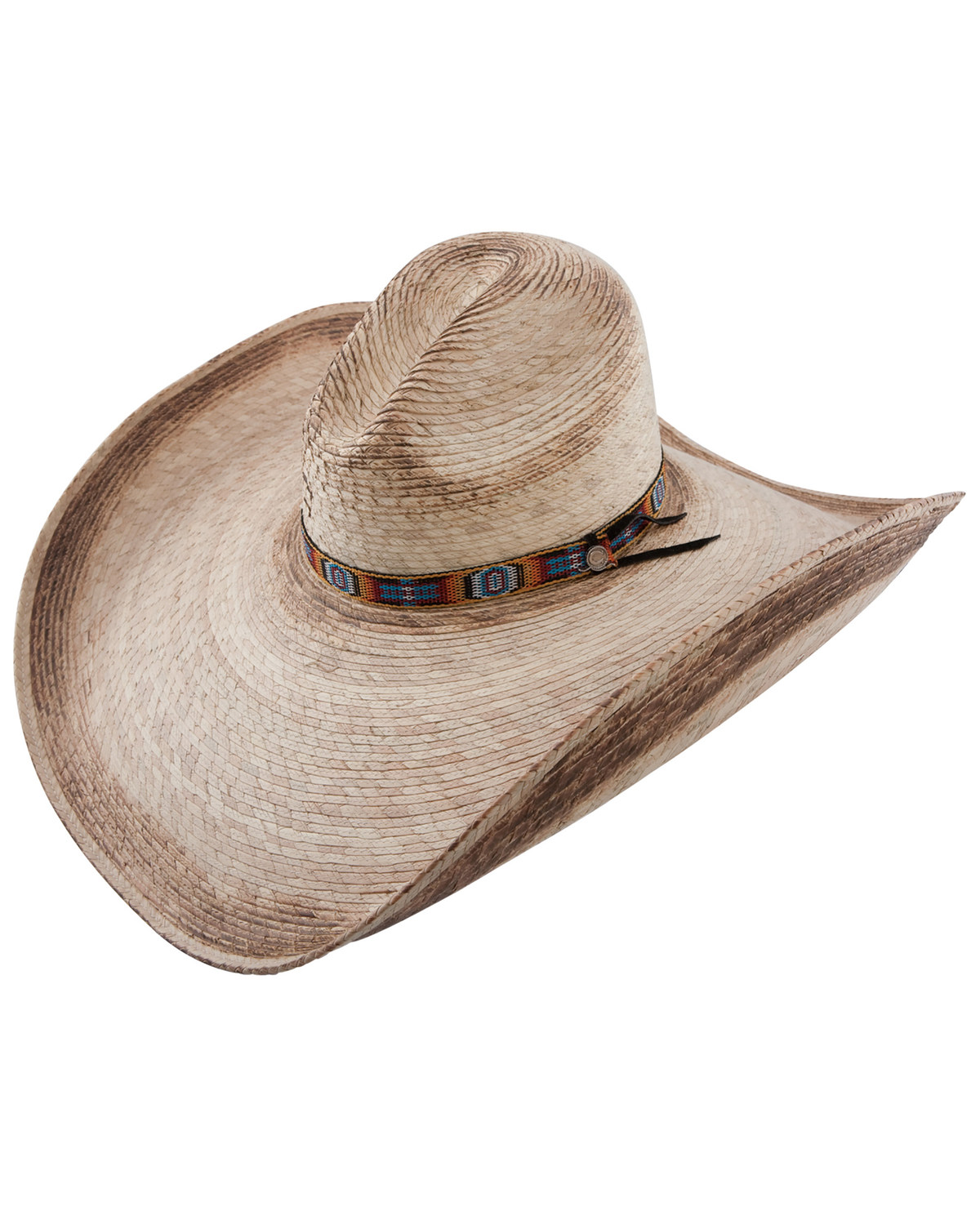 654d52ce Zoomed Image Charlie 1 Horse Women's Coyote Wide Brim Straw Hat, Natural,  hi-res