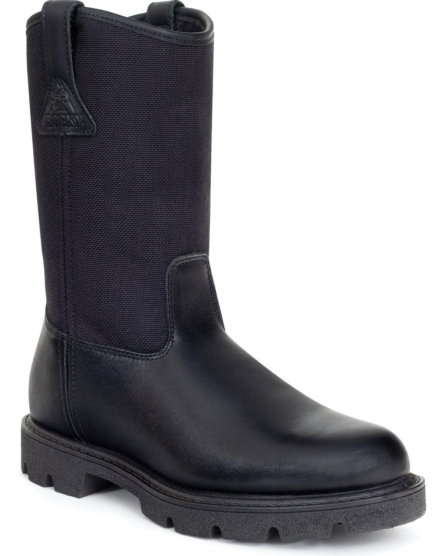 e924d18bdf0 Rocky Men's Wellington Duty Boots