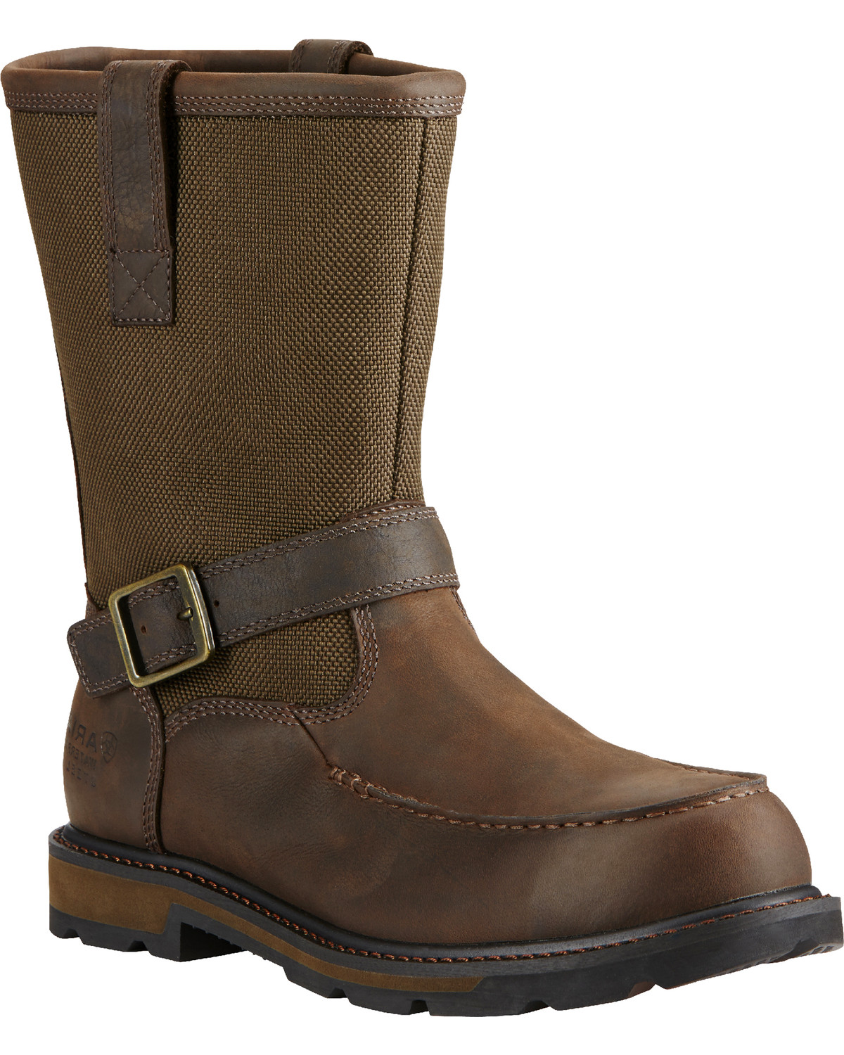 purchase cheap exquisite design buy cheap Ariat Men's Waterproof Steel Toe Groundbreaker Work Boots | Boot Barn