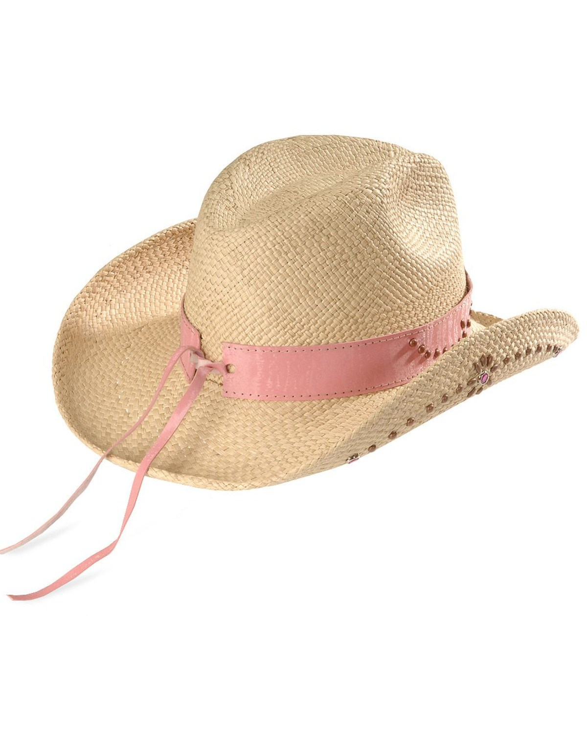 b8634132bef3b Bullhide Girls  Daughter of the West Straw Cowgirl Hat