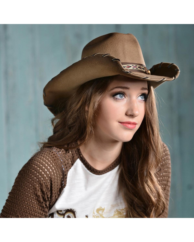 Bullhide Women s Cheyenne Wool Hat  4e4476b8416