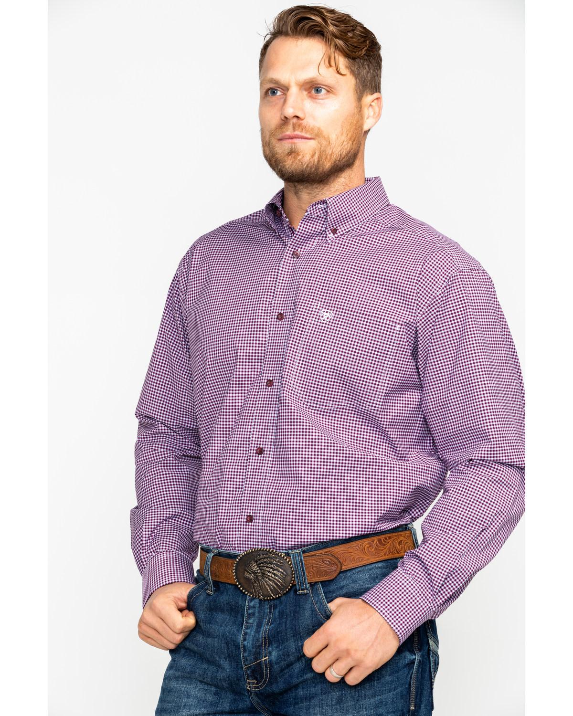 dc477b5f673 Ariat Men s Doug Stretch Performance Print Long Sleeve Western Shirt ...