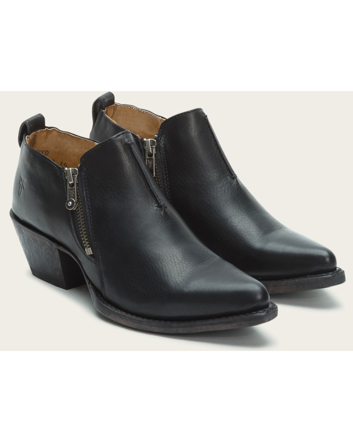 fed5358d7bc40 Zoomed Image Frye Women's Sacha Moto Shooties - Pointed Toe , Black, ...
