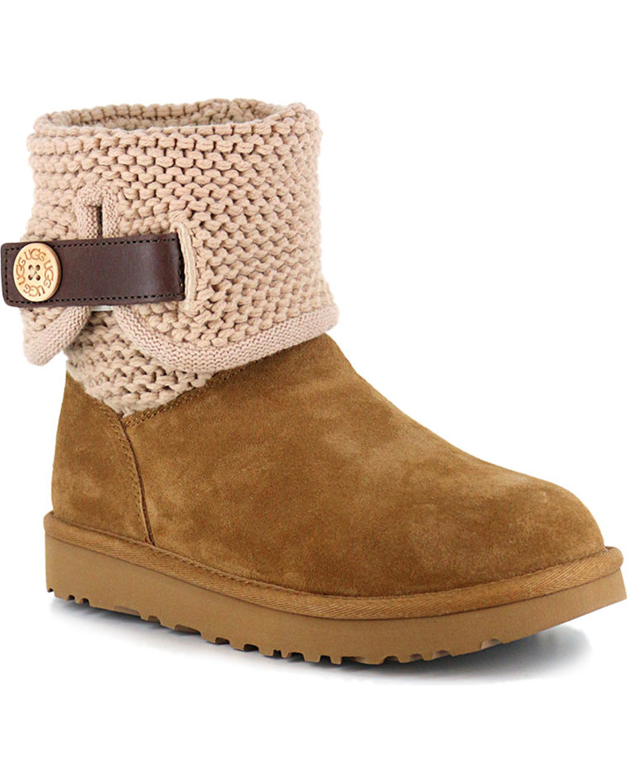 0a43d4daf36 UGG Women's Chestnut Shaina Boots - Round Toe