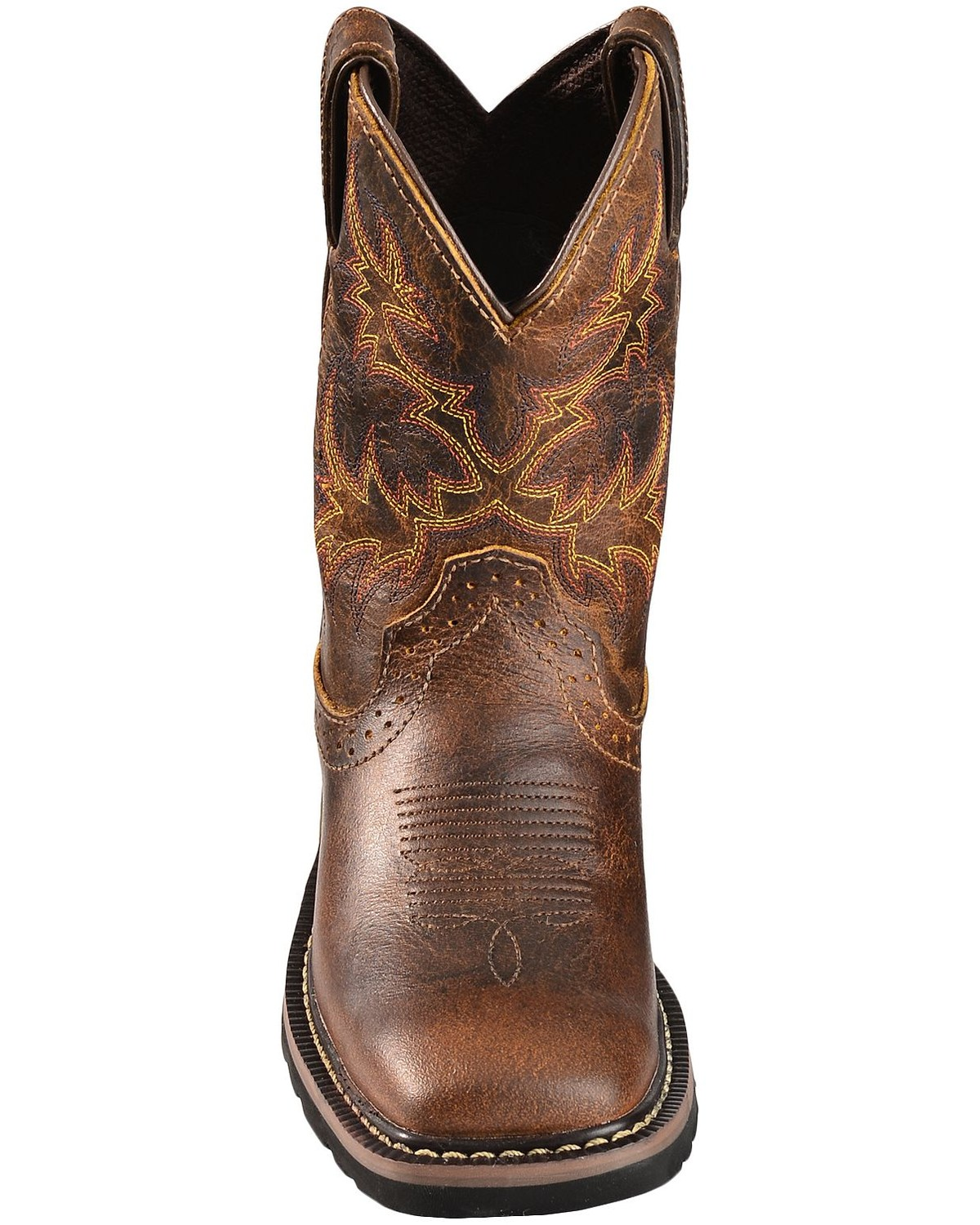 Justin Boys Stampede Work Boots Square Toe Boot Barn