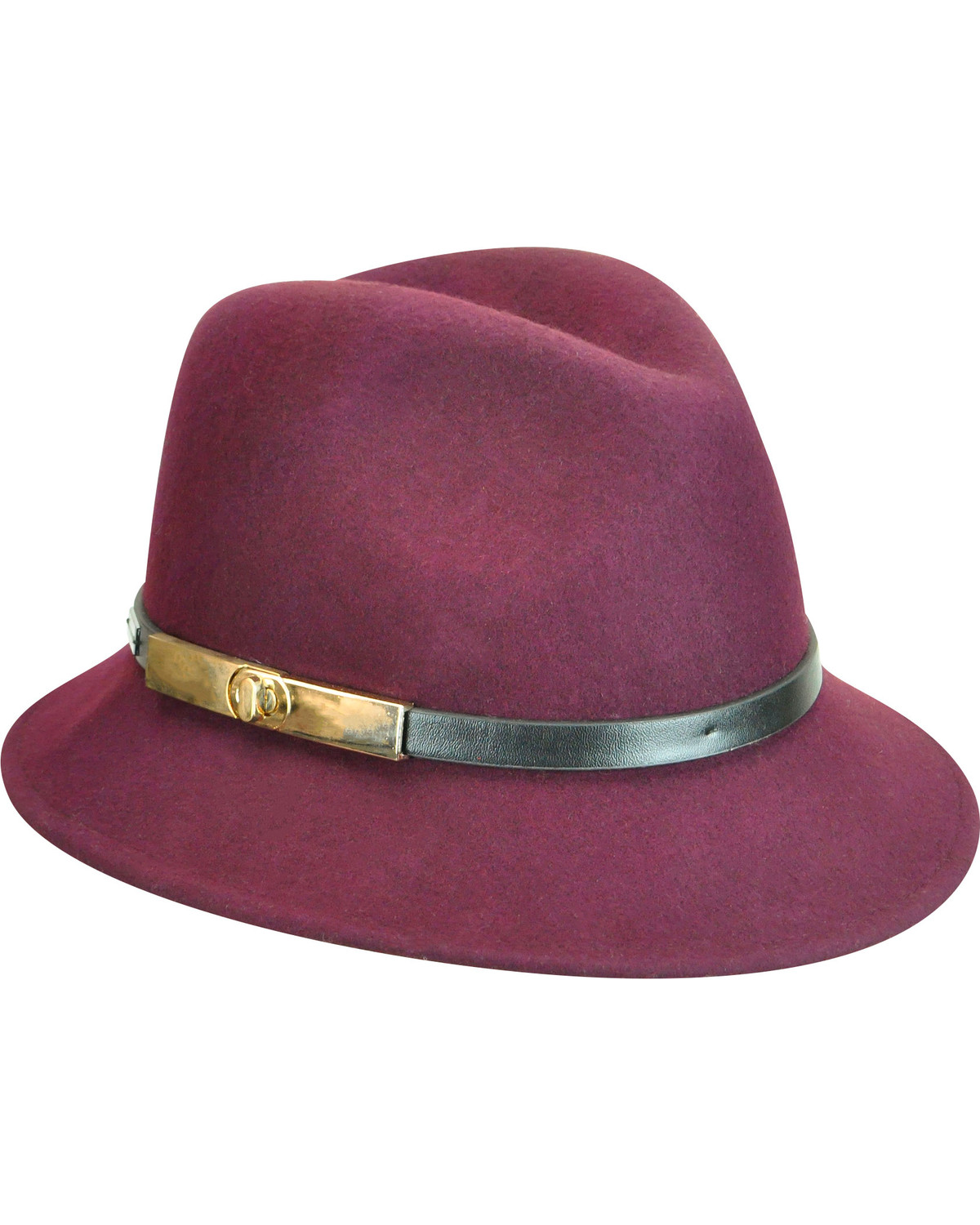 Betmar Women\u0027s Plum Darcy Fedora , Purple, hi-res | Boot Barn