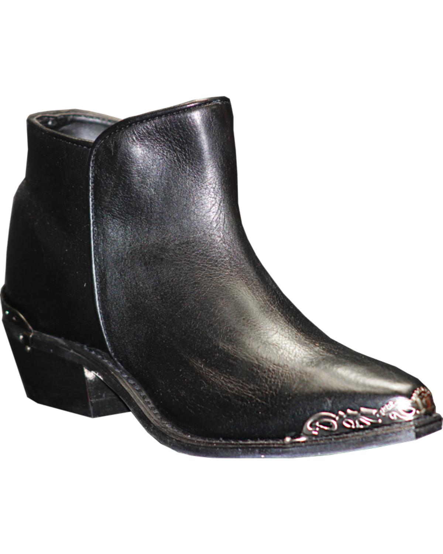 5124d94de45 Zoomed Image Sage Women's Snip Toe Demi-Boots, Black, hi-res