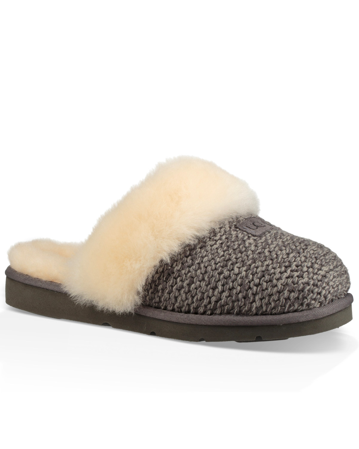 6640c31ce Zoomed Image UGG Women's Cozy Knit Slippers, Grey, ...