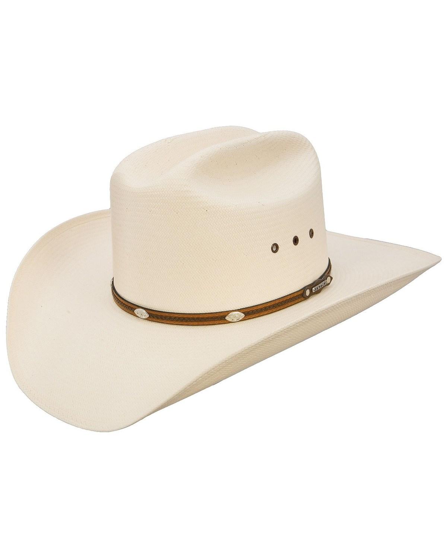 Stetson Alamo 8X Shantung Straw Cowboy Hat  710568b60cc