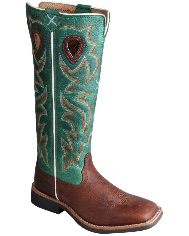 9c0a75b90b4 Twisted X Kid's Buckaroo Western Boots
