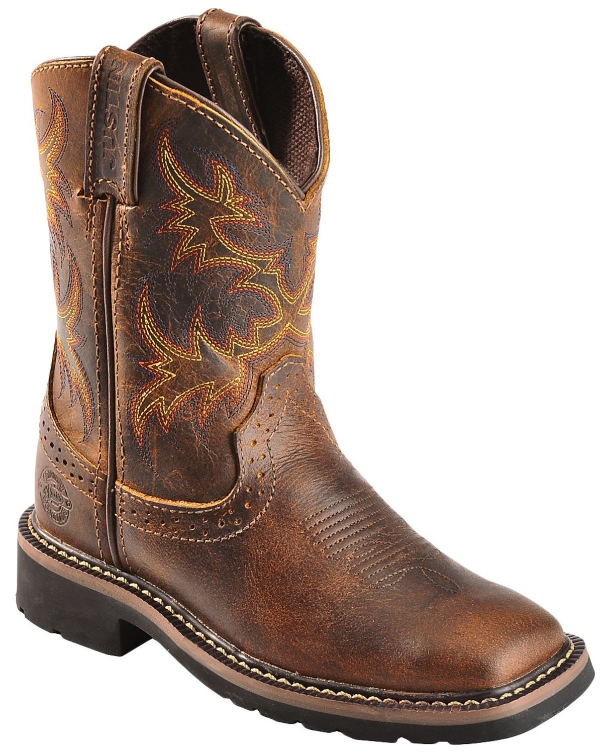 Justin Youth Boys' Stampede Work Boots