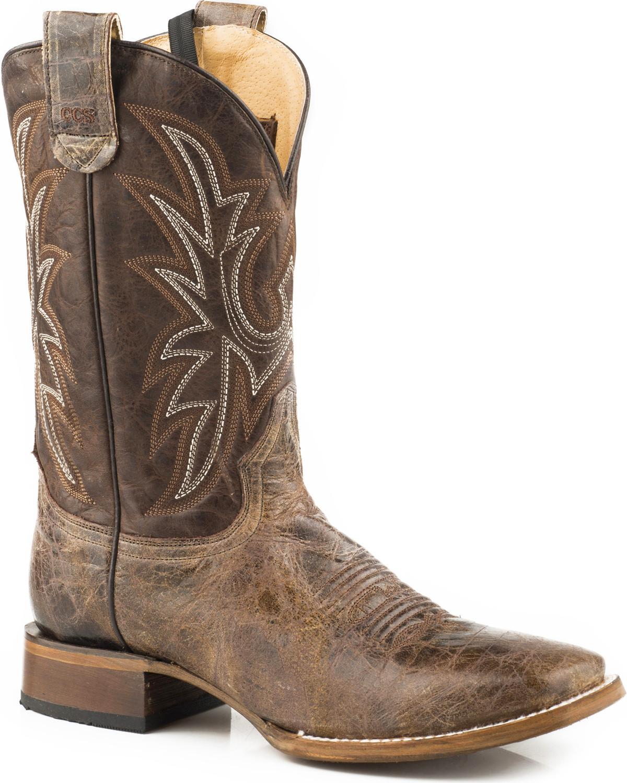 5d2e4a8b64d Roper Men's Pierce Sidewinder Concealed Carry System Cowboy Boots - Square  Toe