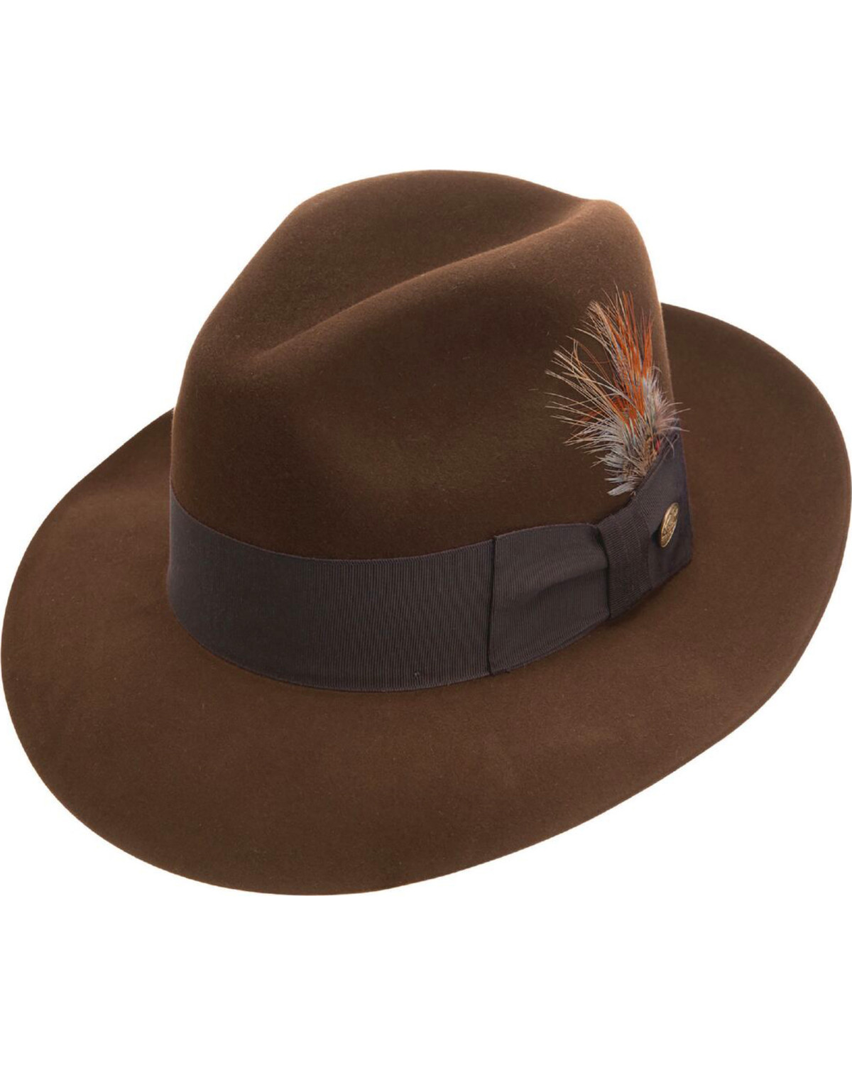 Stetson Men s Pinnacle Beaver Fur Felt Fedora  97eb3f58913