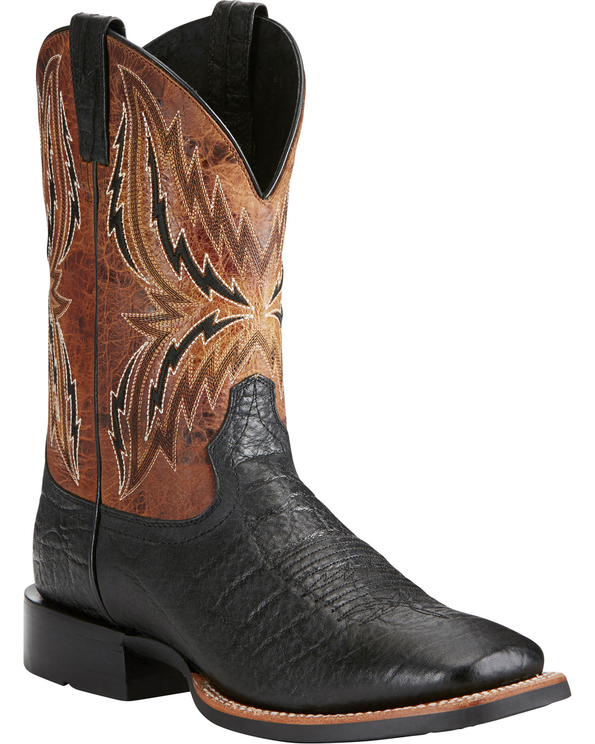 good quality clearance sale competitive price Ariat Men's Arena Rebound Elephant Print Cowboy Boots - Square Toe