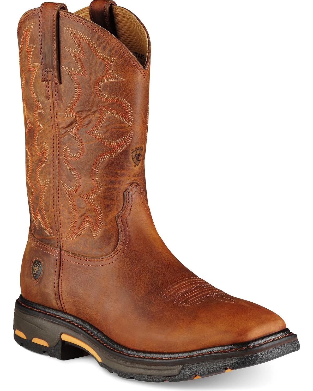 d76b16060a8 Ariat Men's Workhog Steel Toe Work Boots