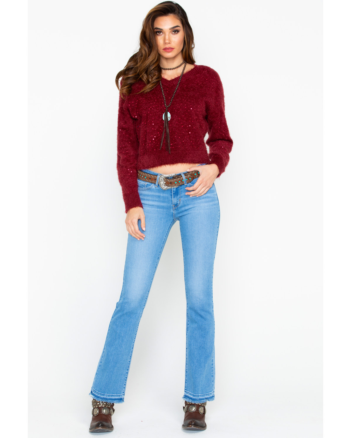 Levi S Women S 715 Vintage Boot Cut Jeans Boot Barn