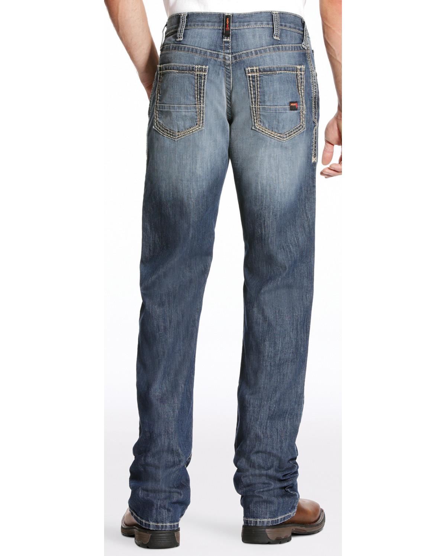 ce2b4512f3d9 Ariat Men s FR M4 Inherent Boundary Low Rise Jeans - Boot Cut
