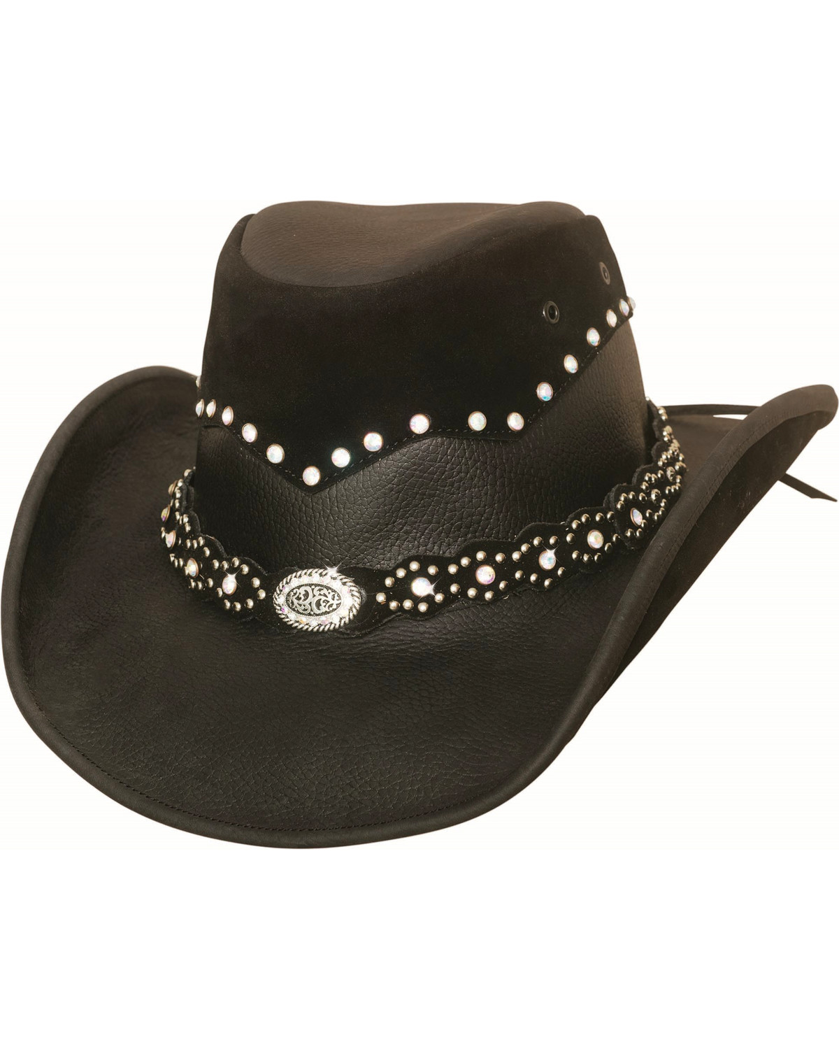 Bullhide Women s Montecarlo Back in Black Cowgirl Hat  49d1cf487bc