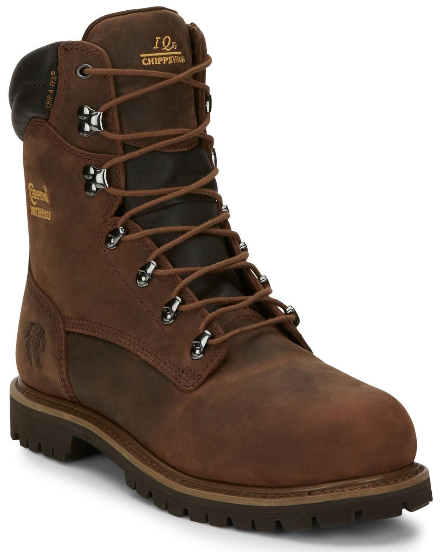 f6c7a73997a Chippewa Men's Heavy Duty Steel Toe Work Boots
