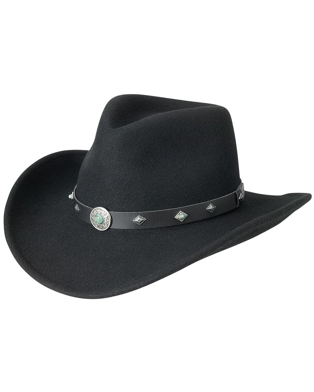 6590d3c79 Silverado Fancy Pinch Front Crushable Wool Cowboy Hat