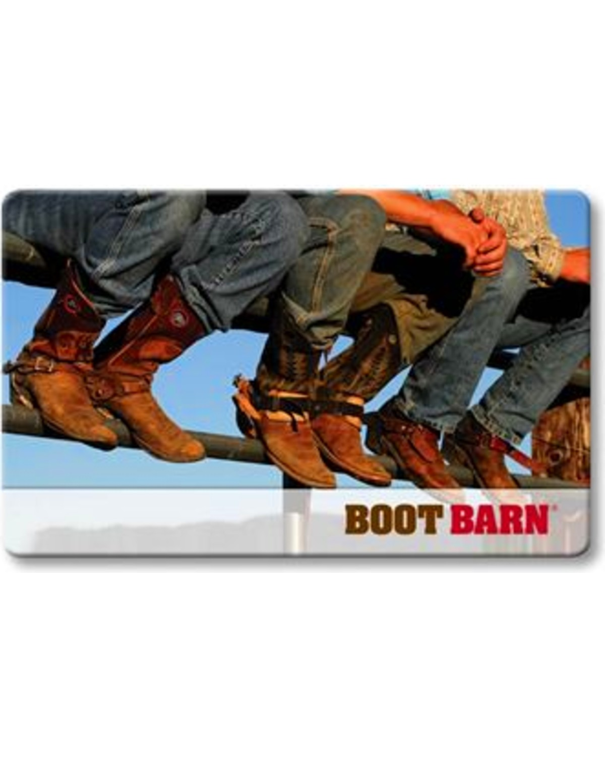 picture about Boot Barn Coupons Printable referred to as Boot Barn Present Card Boot Barn