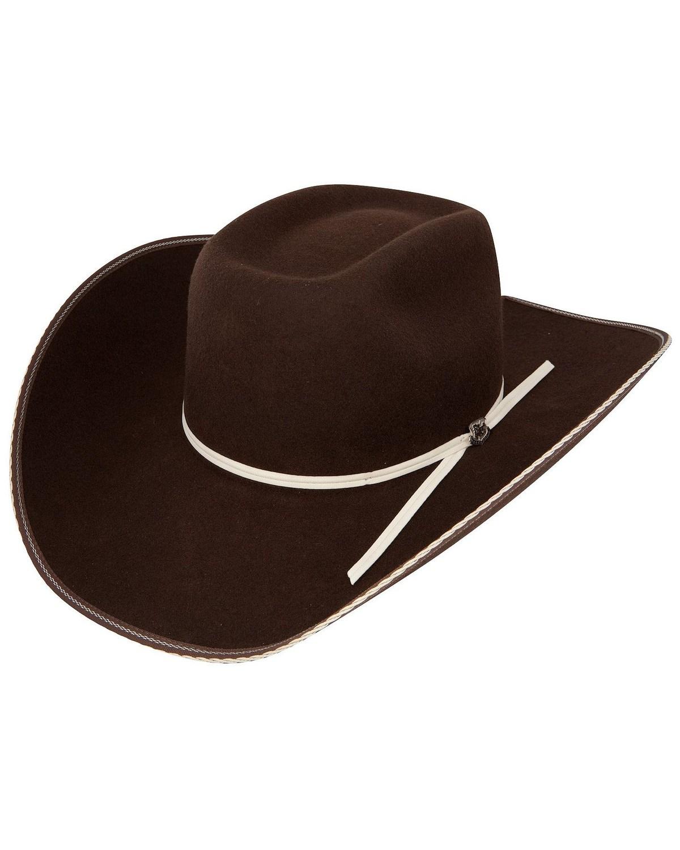 ba8ae53c9c683 Resistol 4X Snake Eyes Cowboy Hat