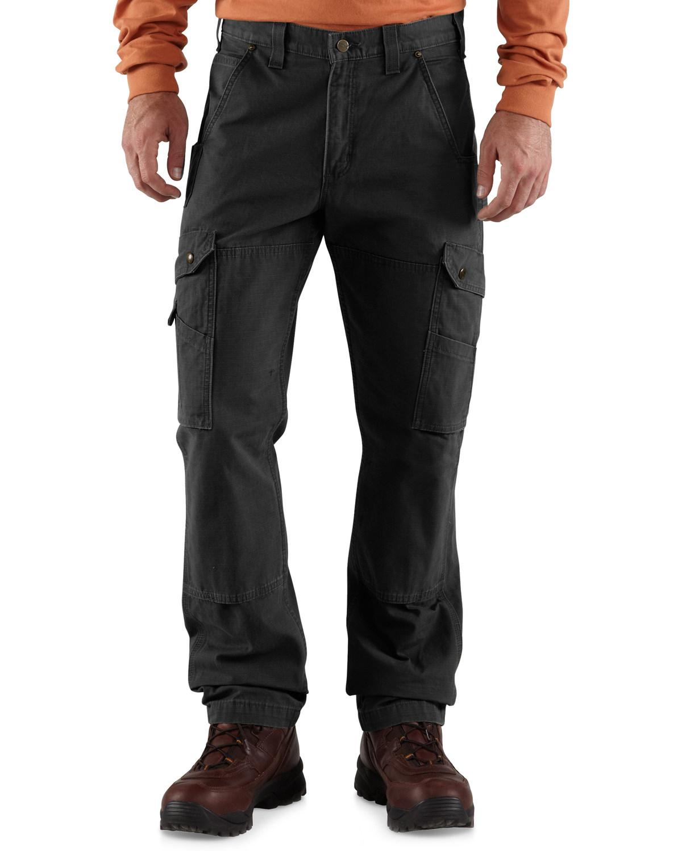 332fdd788d Zoomed Image Carhartt Men's Cotton Ripstop Pants, Black, ...