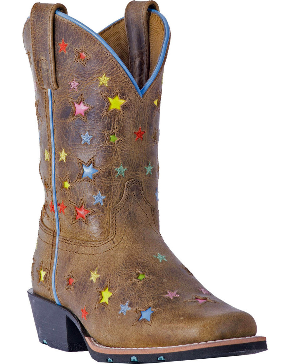 brown leather boots girls