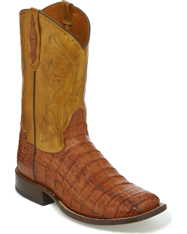8f95198f7ca Tony Lama Men's Caiman Belly Exotic Boots | Boot Barn