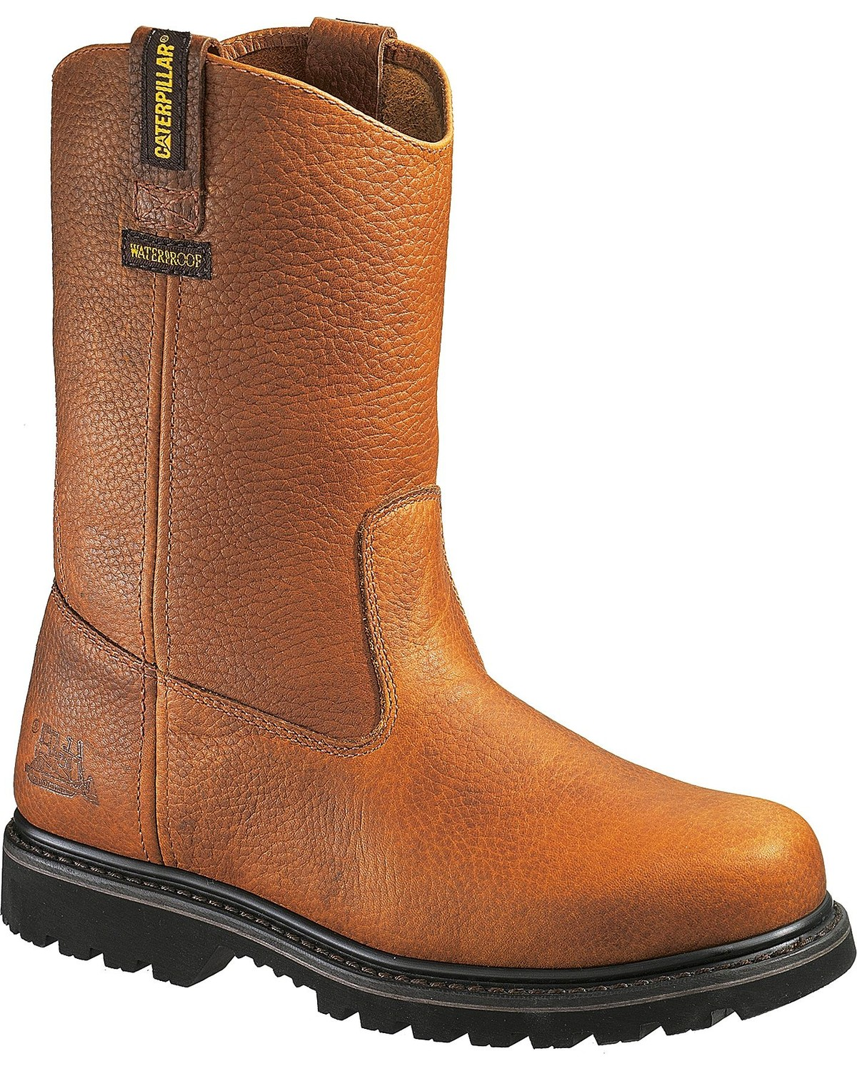 c71520c6330 CAT Men's Edgework Waterproof Steel Toe Work Boots