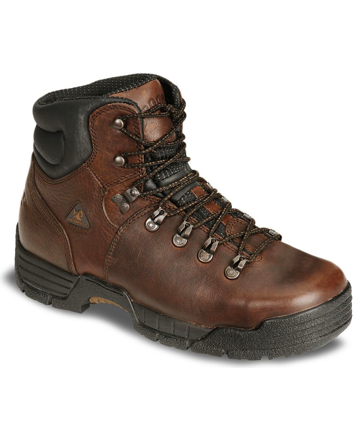Rocky Mens Mobilite Six Inch Steel Toe Work Boot