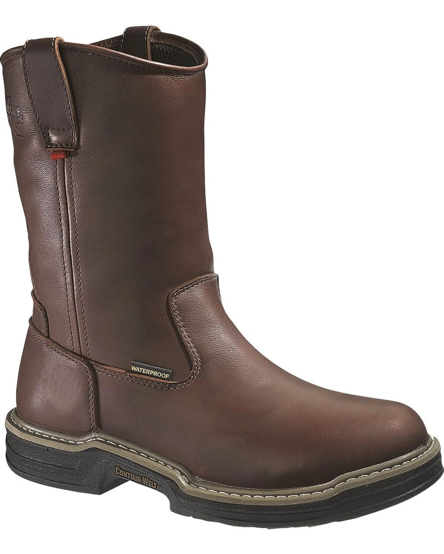 98d444de462 Wolverine Men's Buccaneer Multishox® ST WH Waterproof Wellington Work Boots