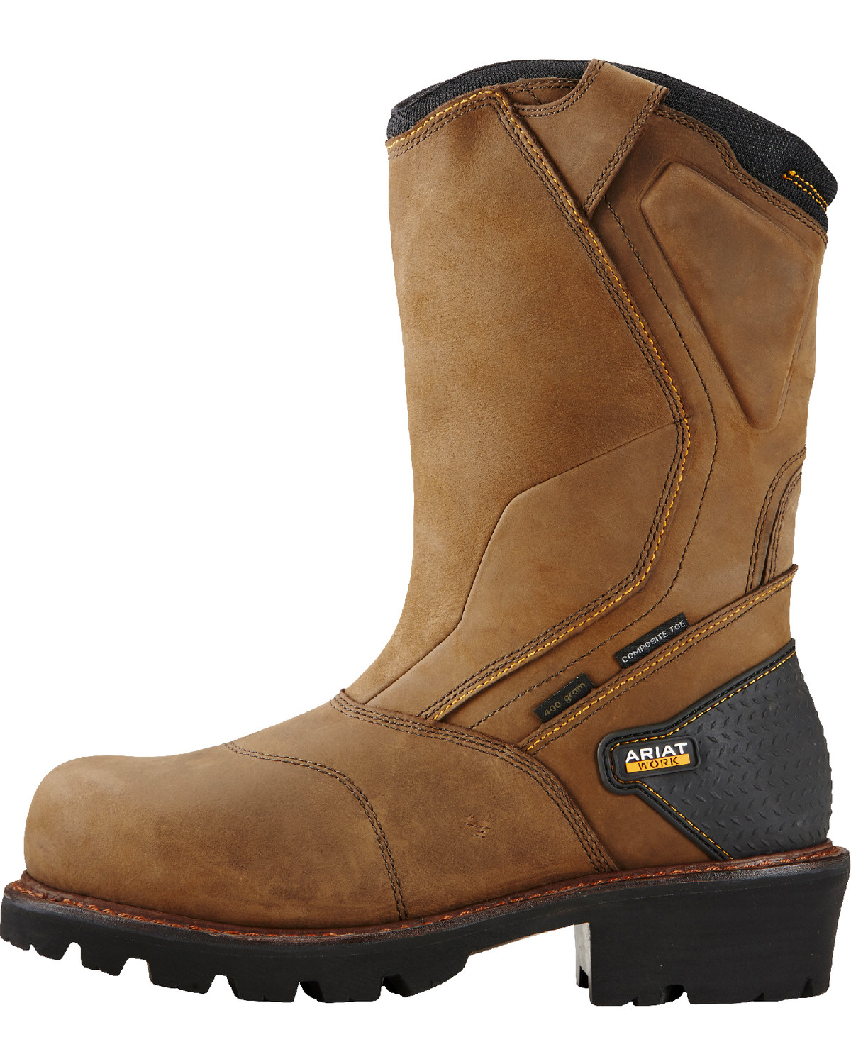 Ariat Men S Powerline Composite Toe Insulated Waterproof