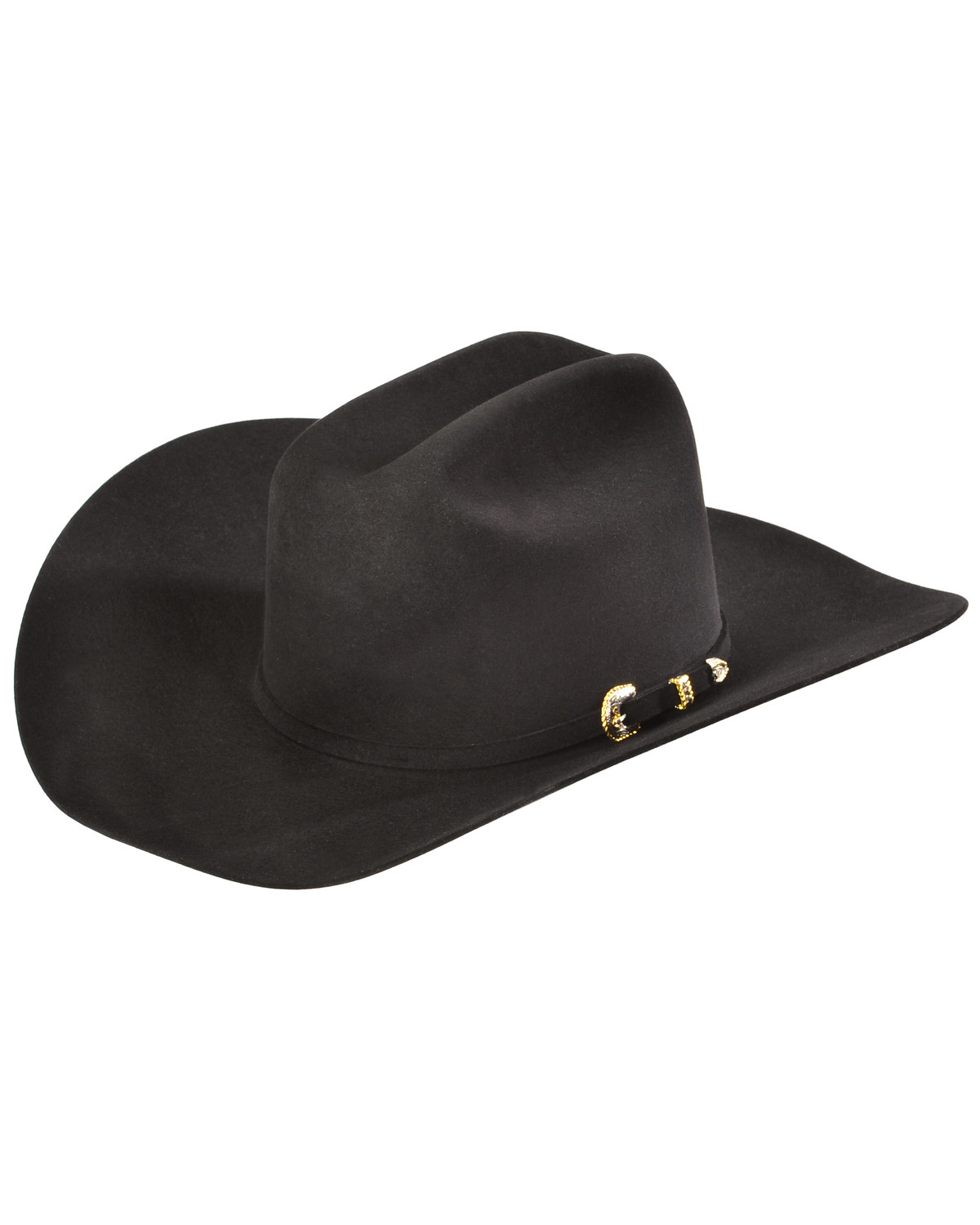 Serratelli Men s Black 10X Fur Felt Austin Cowboy Hat  bd922002cd2