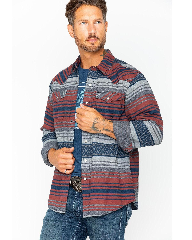 a9618f64fac Ariat Men s Granite Waldera Retro Shirt