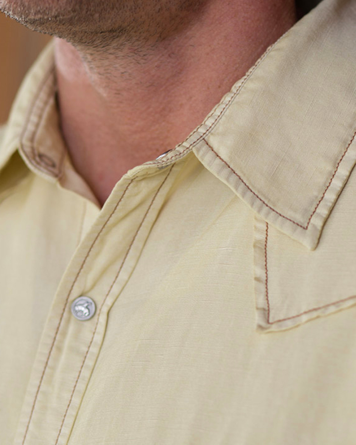 Light Yellow Western Shirts